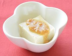 米粉のごま豆腐