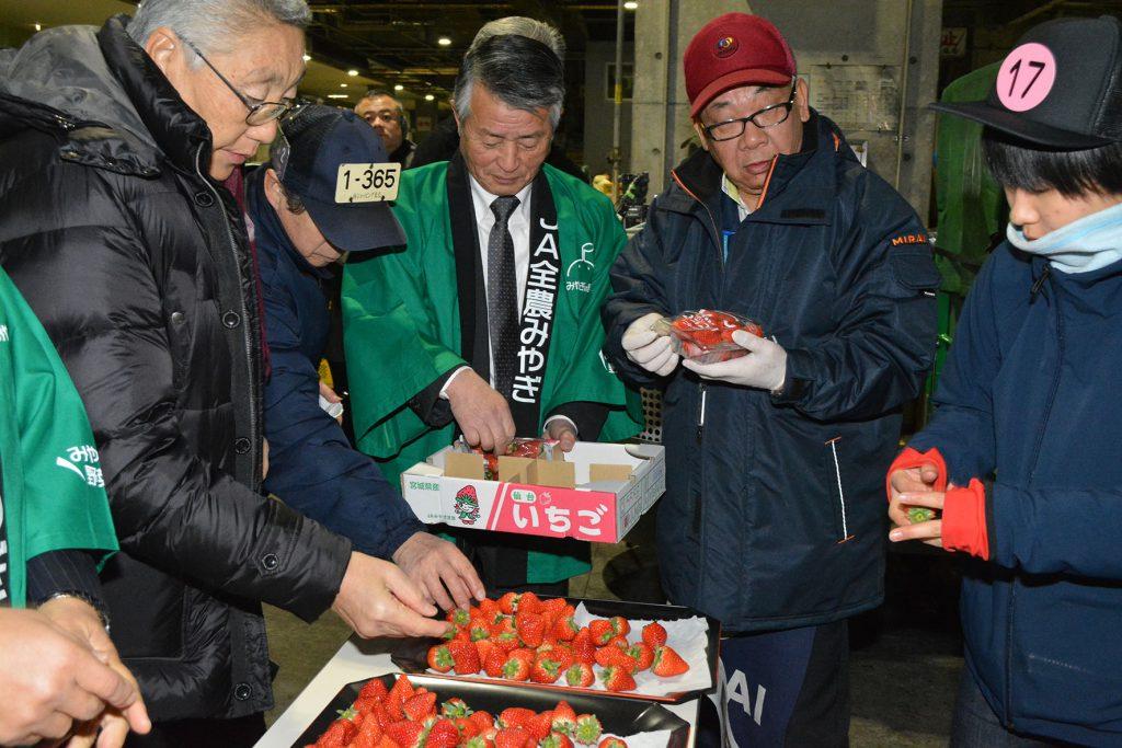 190122 札幌「みやぎフェア」市場で試食_0115