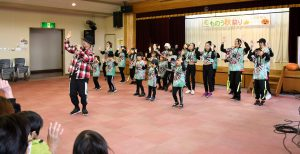 「GUIDANCE」によるヒップホップダンスは会場全体が大盛り上がり